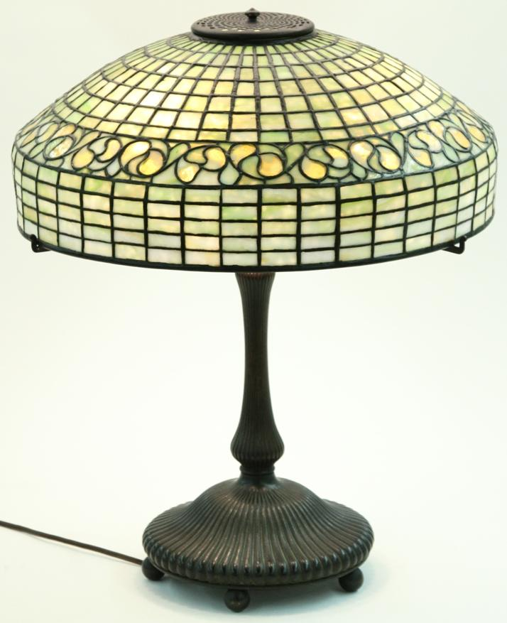 Tiffany Studios Lemon Leaf Table Lamp- $12,000