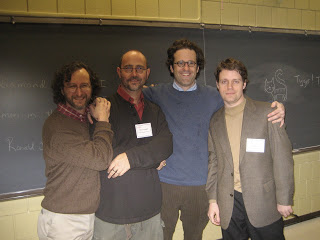 Ad Astra Per Aspera: Selinger, Scroggins, O'Leary, and Bettridge, Louisville, 2011 (?)—a while ago for sure.