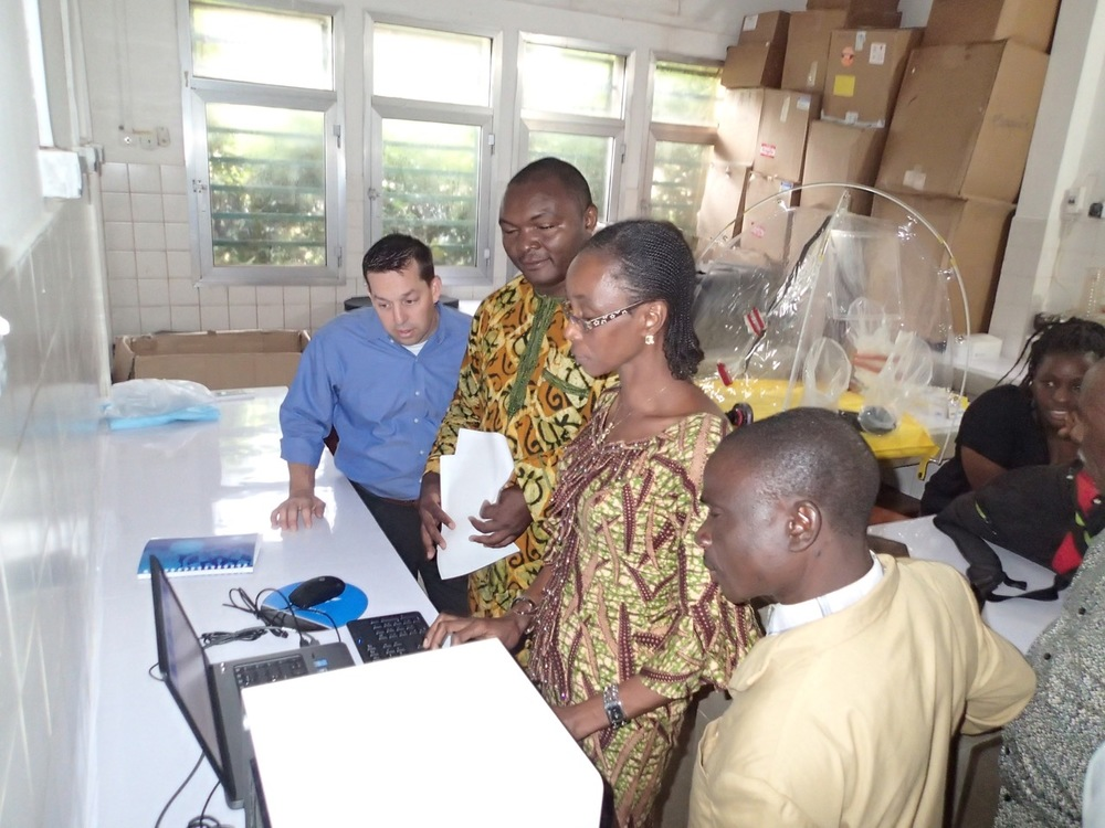 SystemOne collaborated with Global Connectivity Solutions to connect Cepheid's GeneXpert® in Guinea's Ebola Treatment Center labs.