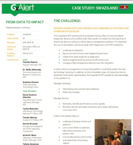 August 2017 | SystemOne: Swaziland Case Study