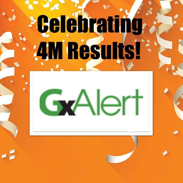 #Celebrating 4M #results on #GxAlert! We started 5 years ago with 1M results sent through #SMS and email notifications, numerous #reports, dashboards and #APIs to sending #TB #data for over 4M patients around the #world. 🌍🎉👏Cheers to everyone involved in this journey as we continue to #develop #exciting things for our #platform! #milestones
