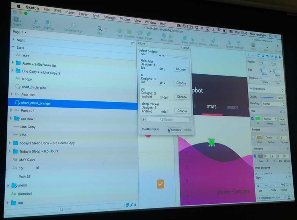 Demo of Sympli.io interface