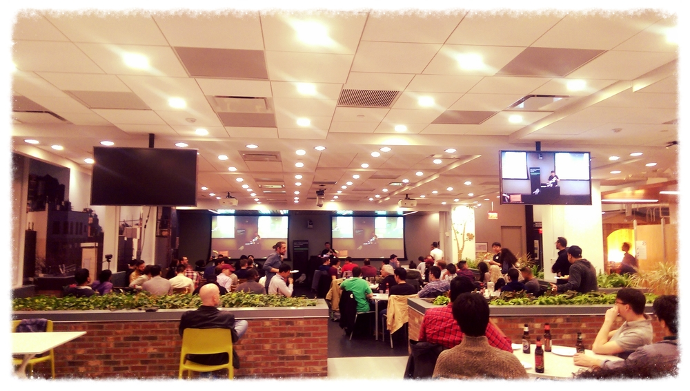 The Water Tower Cafe at Google NY.