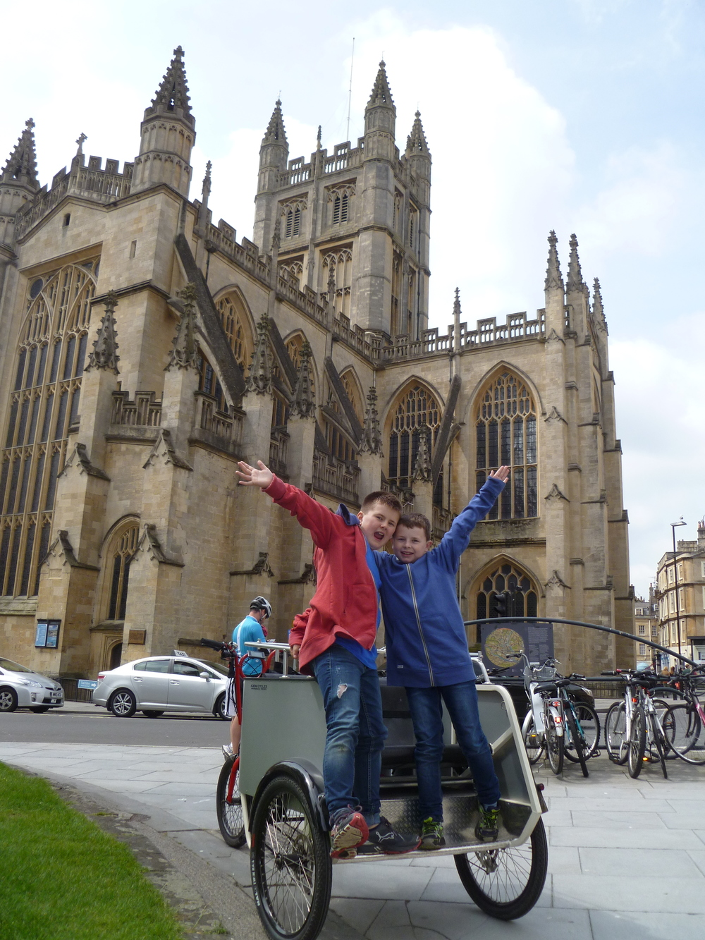 big fun on bath trike