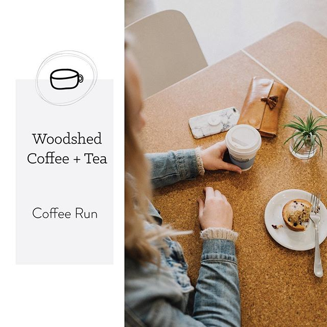 While Katie was in OKC a couple weeks ago, we drank LOTS of coffee of course! Here is one of the lovely places we stopped at, @woodshedtea 😍 head on over to the journal for more photos! #mwlcoffeerun