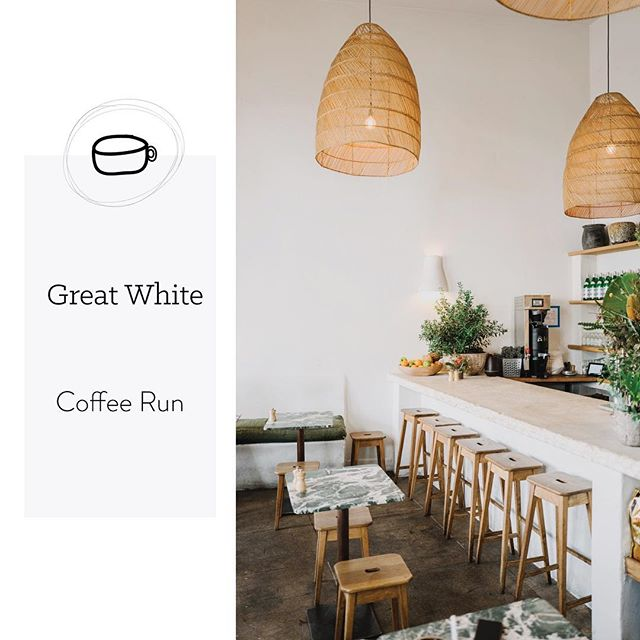 Katie was in LA last week and loved this spot so much she visited it 3 times! It is a great spot to work, people watch, or grab food and is only a couple blocks from the beach 😍 check out the journal for more photos of this breezy shop! #MWLCoffeeRun