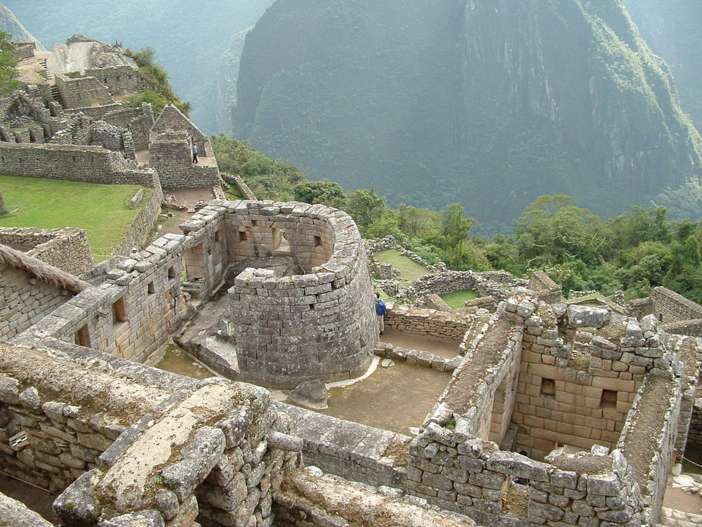 "Machu Piccu- Temple of the Sun aka ""The Watch Tower"" Photo: Fabricio Guzmán"