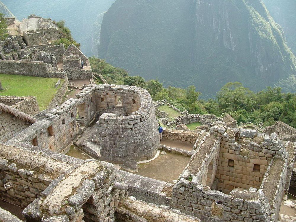 "Machu Piccu- Temple of the Sun aka ""The Watch Tower"" Photo: Fabricio Guzmán"
