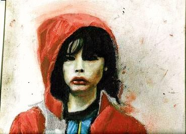 PJ In Red. Oil on canvas. 2006.