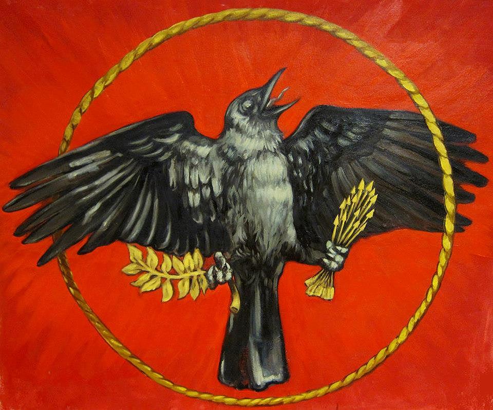 E. Pluribus Unum. Oil on canvas. 2012.