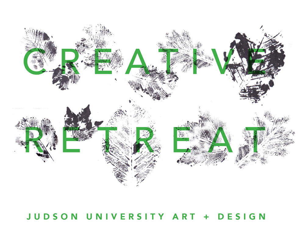 Branding identity for the Judson Creative Retreat promotional materials, Fall 2016