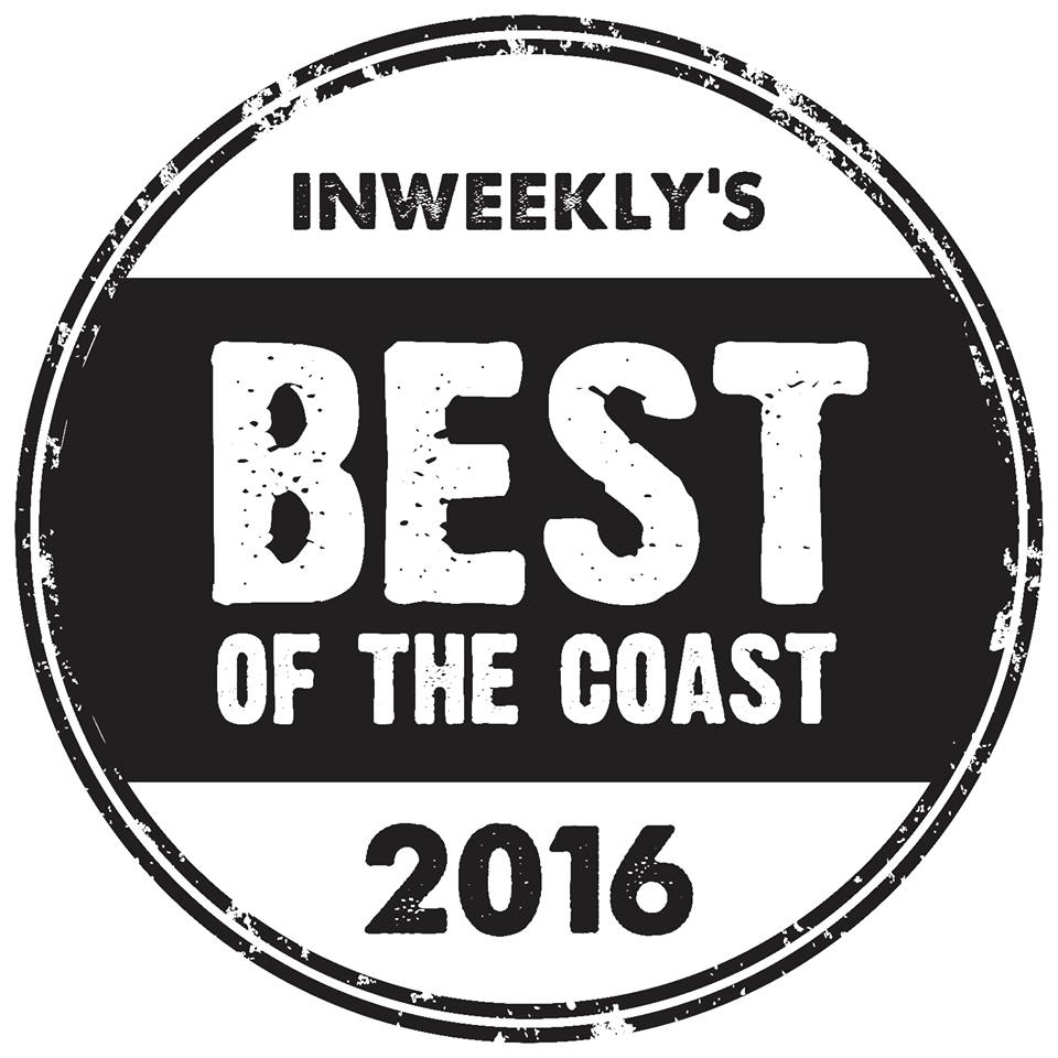We are voted runner up best Wedding Photographer in best of the coast!