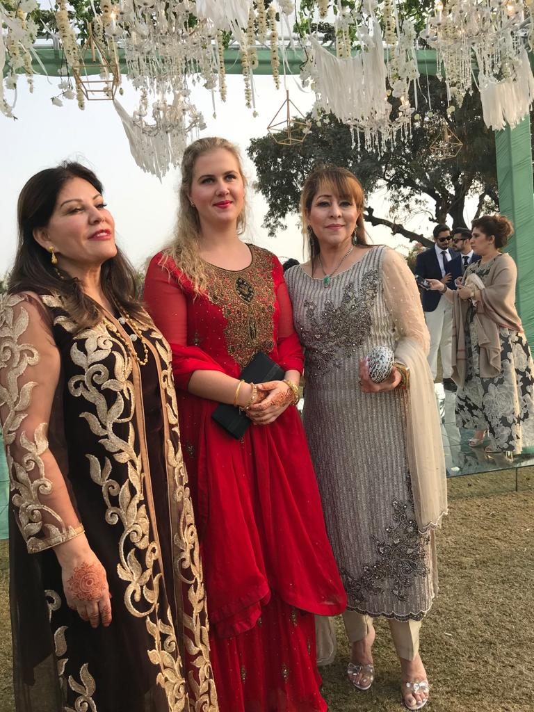 Increasingly, westerners are visiting Pakistan during the wedding season. Many Pakistanis have settled in Australia and the UK, which is a reasonable flight home. It's also an affordable destination wedding.