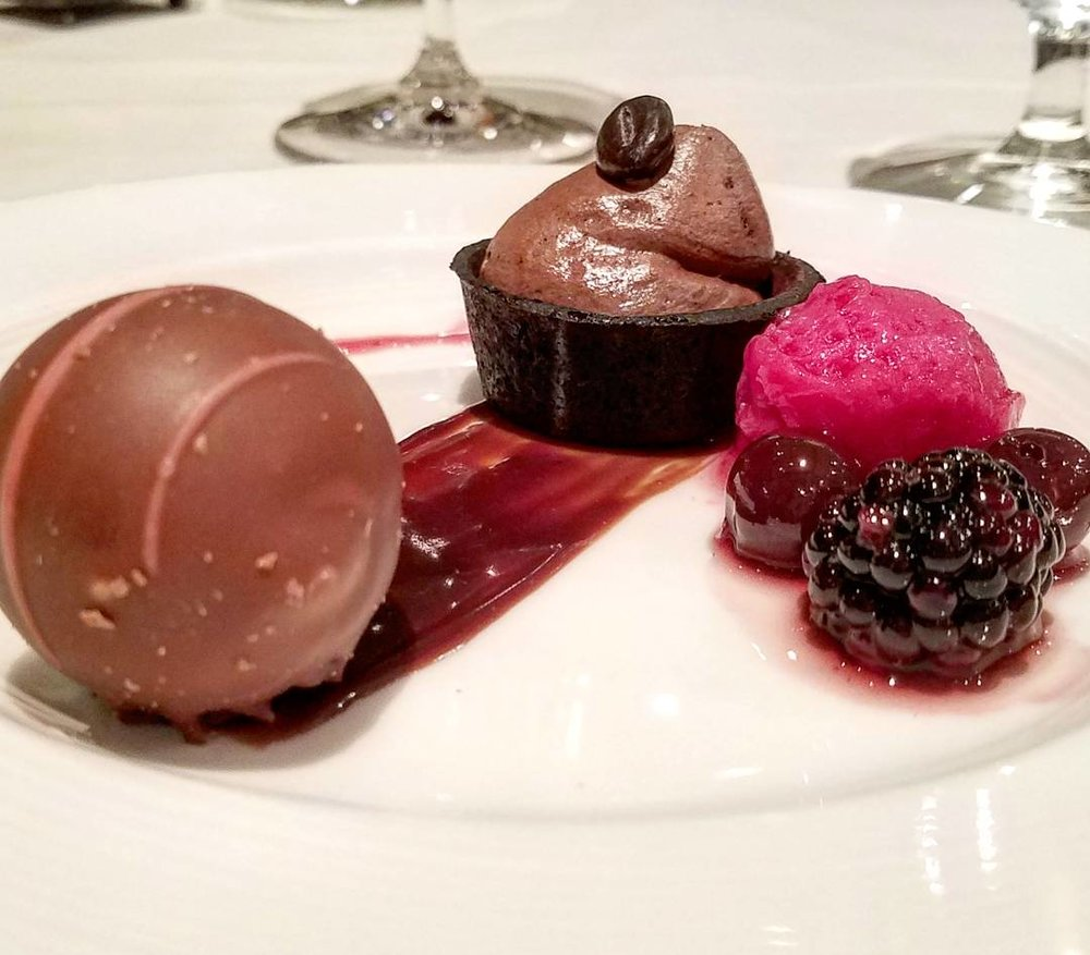 An epic trio of desserts at the Coleman Brook Tavern.