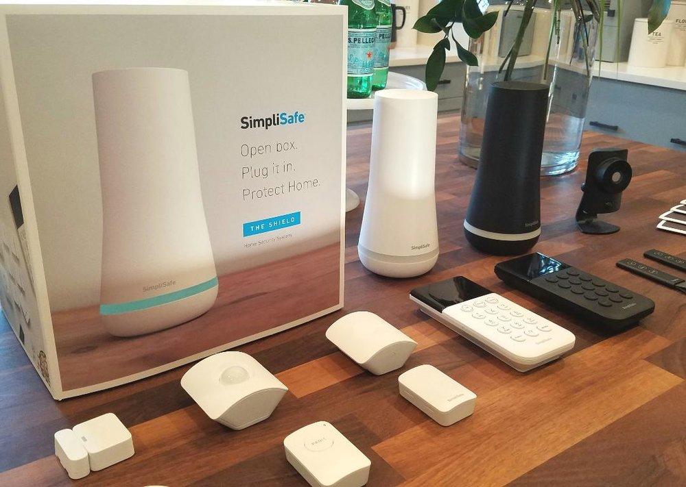SimpliSafe hardware array