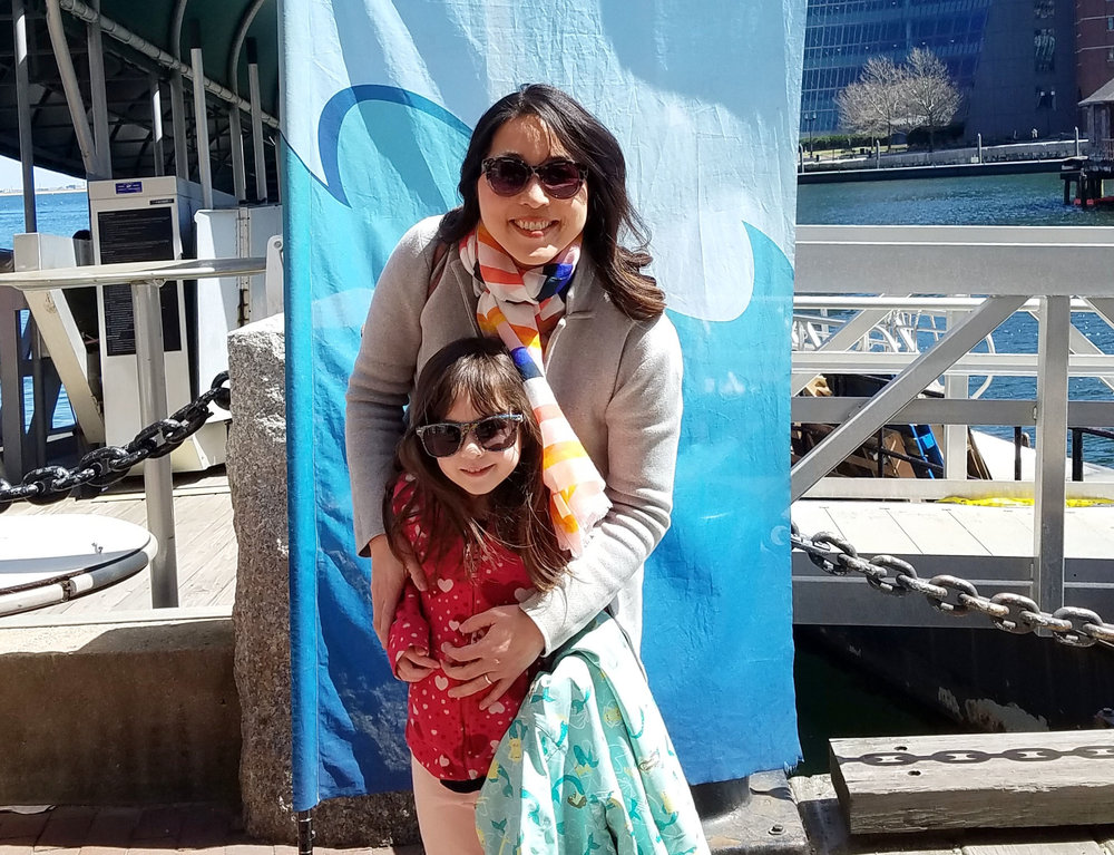 Violet's love of sea animals grew even stronger on a recent Boston Harbor animal adventure so I'm thinking her next donation will be in honor of sea lions!