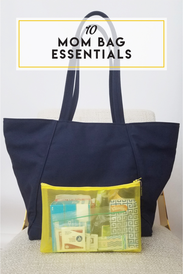 Reduce your mental load by creating an essentials kit that moves from bag to bag!