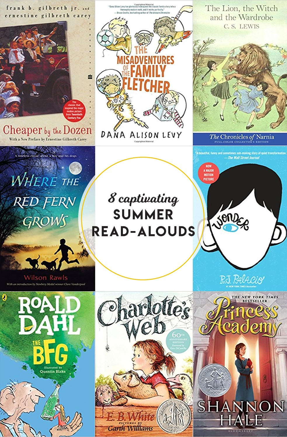 When was the last time you read a book—out loud—with your family? Enjoy these 8 summer read-alouds!