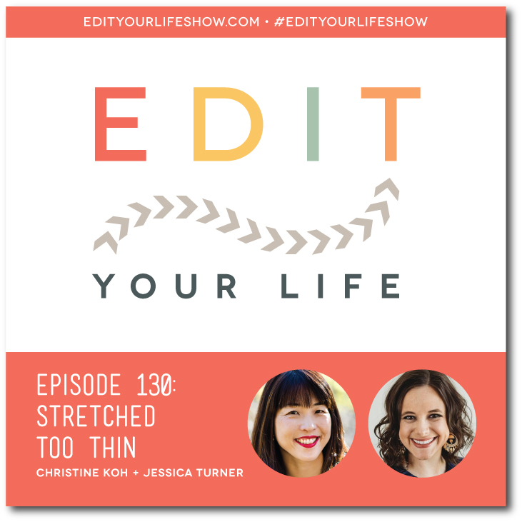Christine Koh interviews Jessica Turner about her new book   Stretched Too Thin: How Workings Moms Can Lose the Guilt, Work Smarter and Thrive