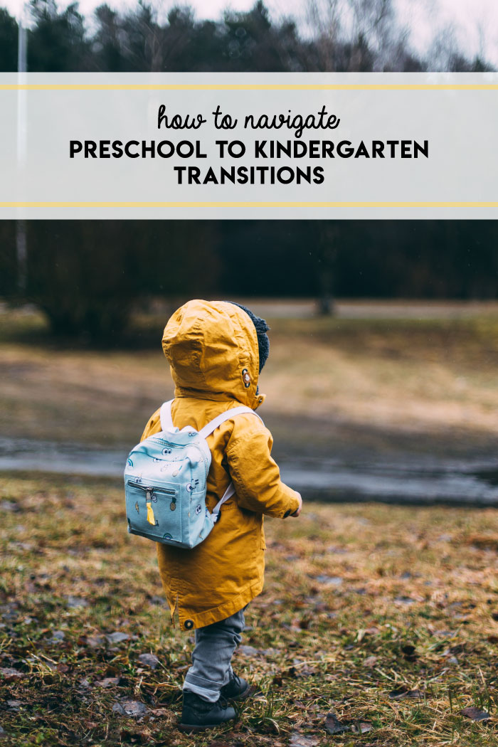 Tips for how to navigate the jump from preschool to kindergarten.