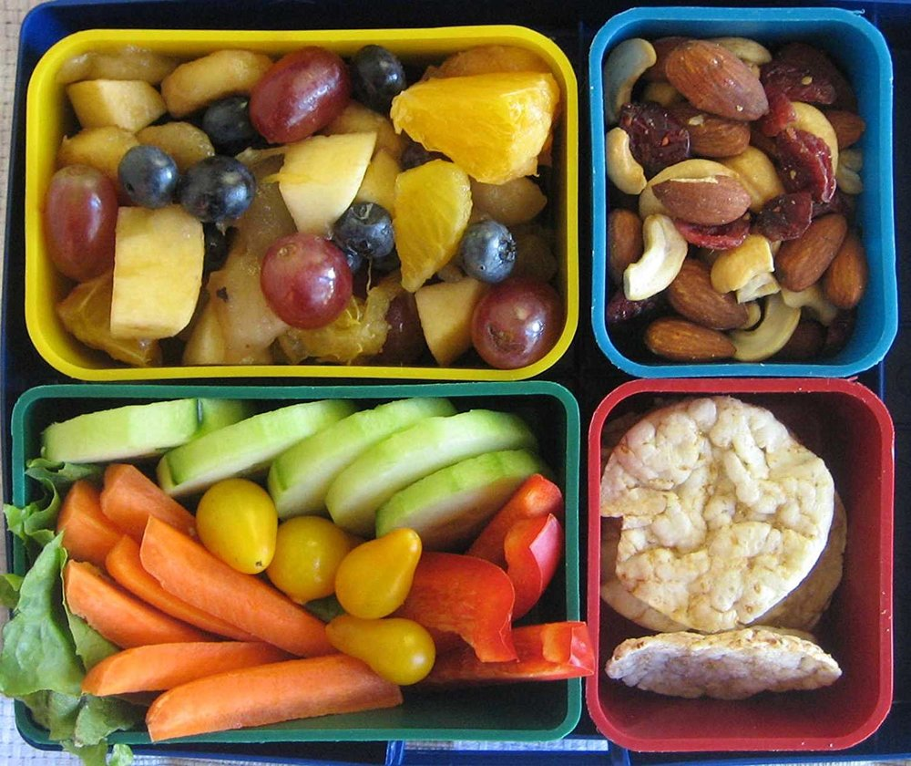 The removable containers of Laptop Lunchboxes offers lots of flexibility, but also lots of little pieces to wash.