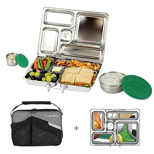 The PlanetBox Rover lunchbox is an investment but it's made of stainless steel.