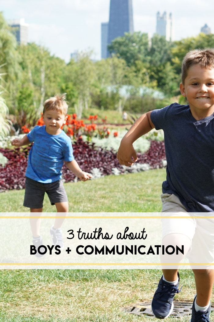 Three truths about boys and communication, via Dr. Anthony Rao