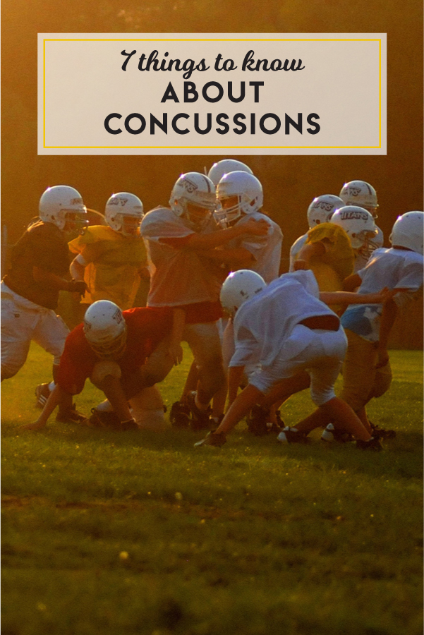 7 things to know about concussions