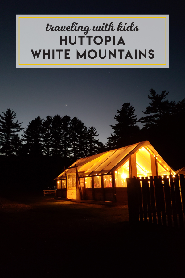 Huttopia glamping in the White Mountains