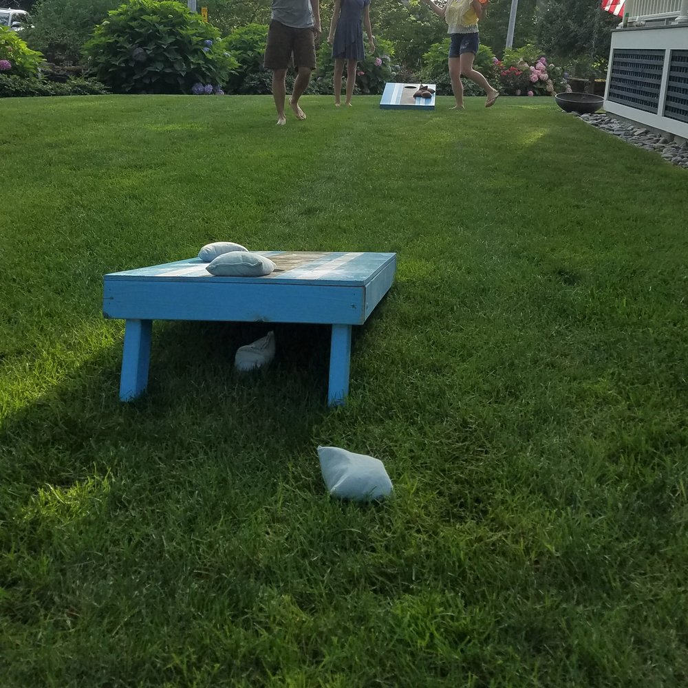 My cornhole game is extremely inconsistent but I love it!