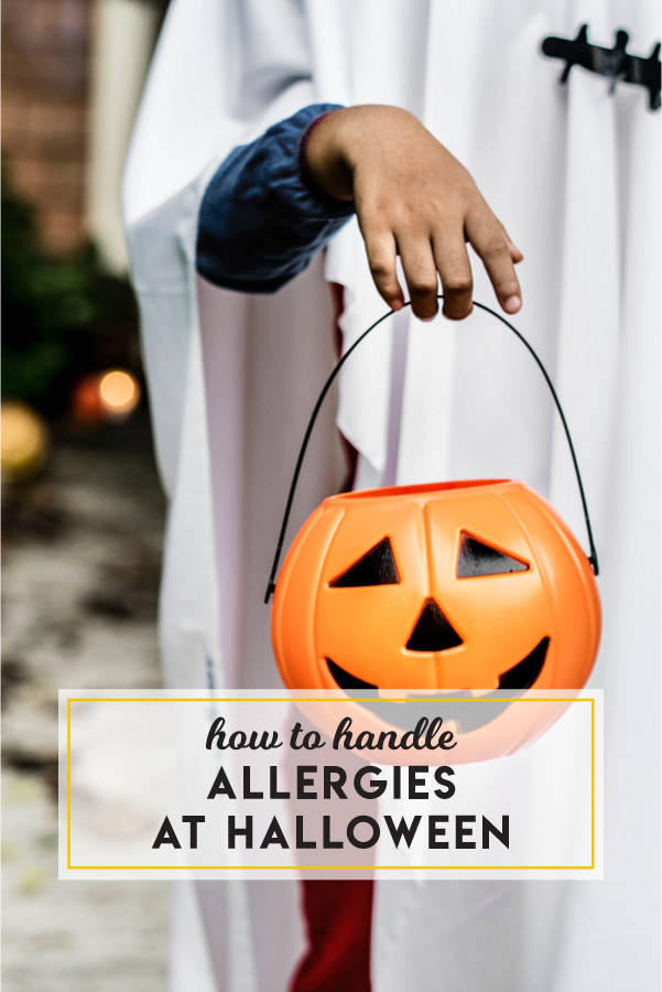 How to handle allergies at Halloween