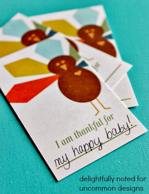 10 free Thanksgiving printables: Thanksgiving gratitude cards