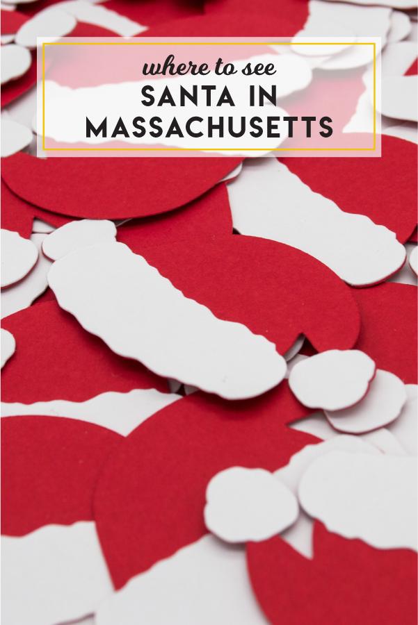 Where to see Santa in Massachusetts