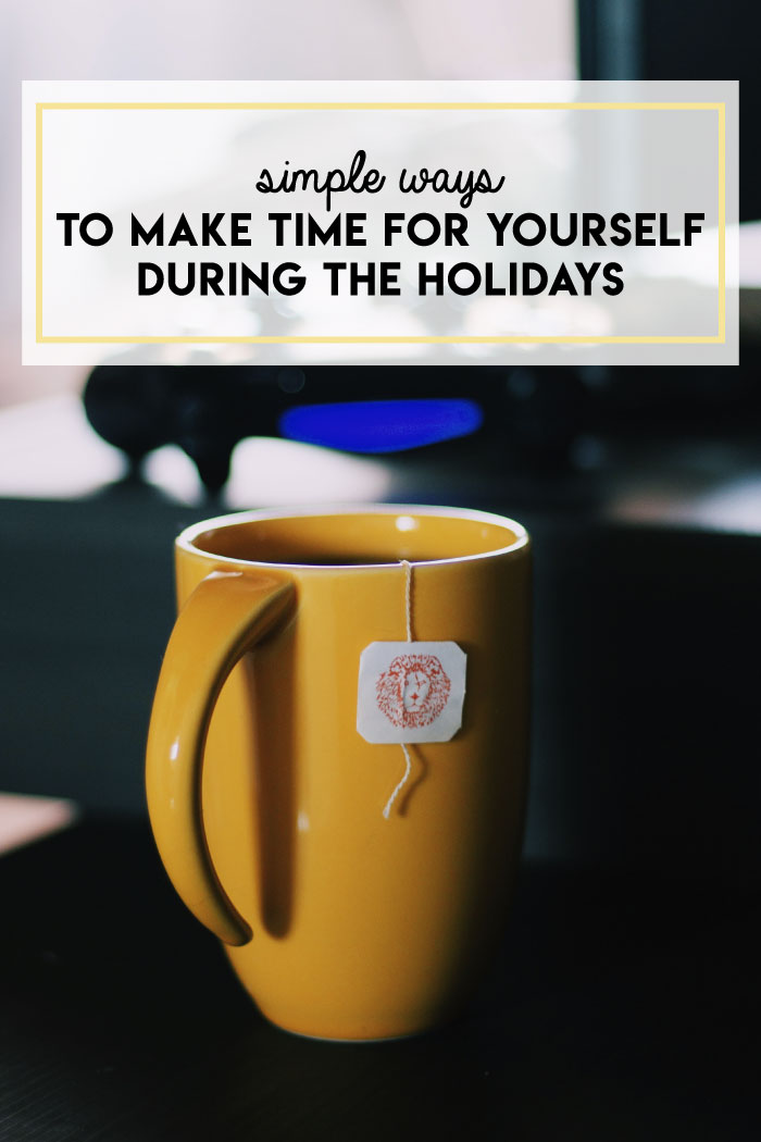 6 tips for holiday self-care