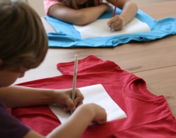 T-shirts kids can design and make
