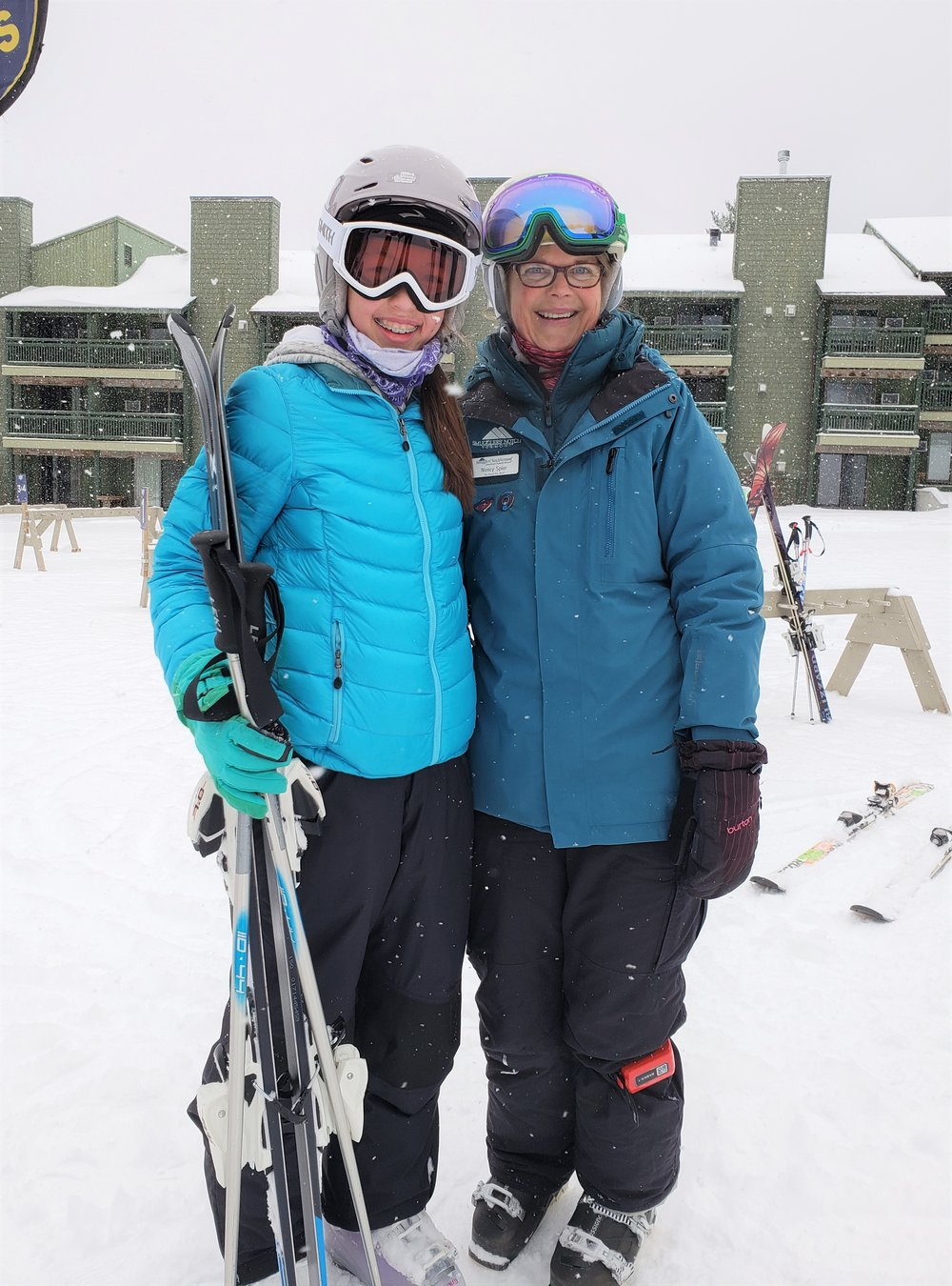 Teen lessons at Smugglers' Notch