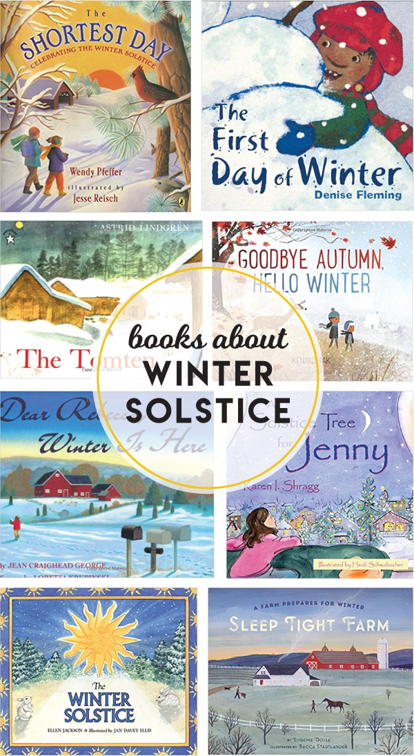 19 winter solstice books for kids