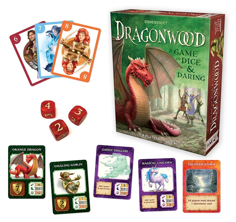 Dragonwood + other family board games that are actually fun for adults too!