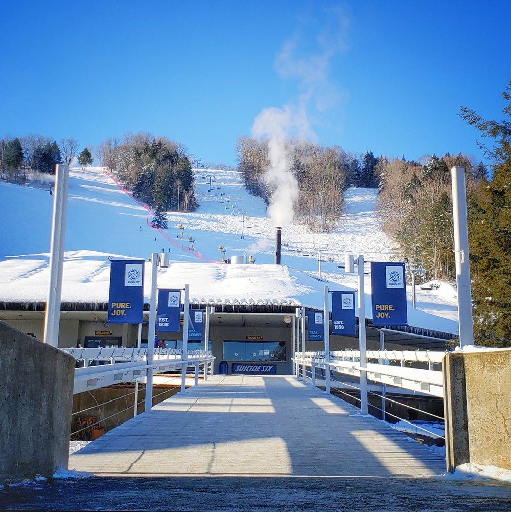 The Woodstock Inn & Resort's Suicide Six ski area