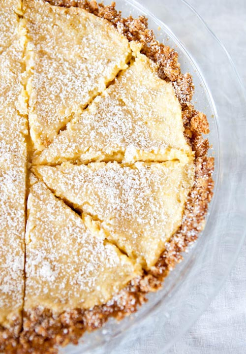 Crack pie via Averie Cooks
