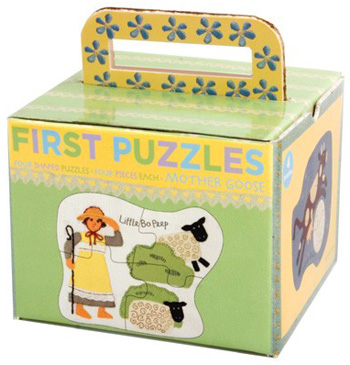 Barefoot Books Mother Goose four-piece puzzles