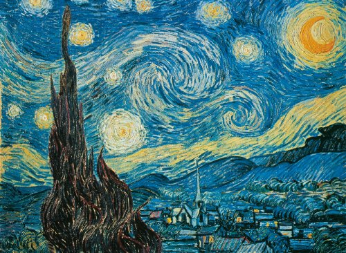 500-piece Starry Night puzzle