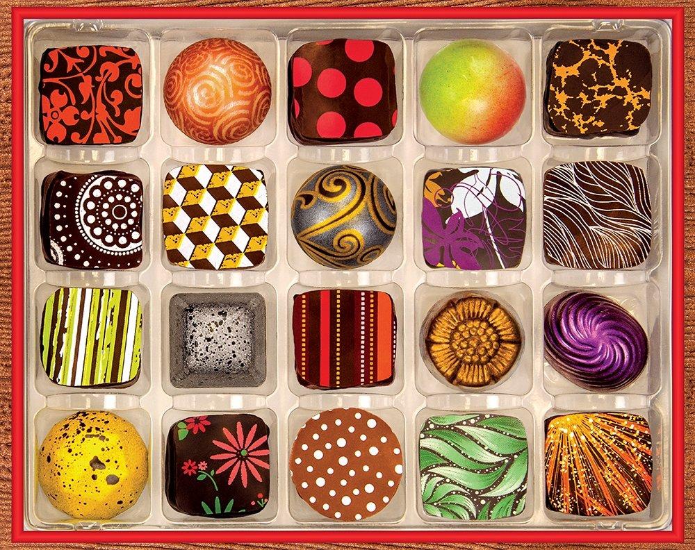 Sprinbok chocolate artistry puzzle
