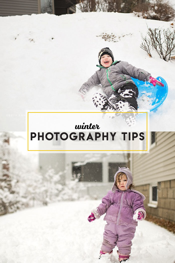 Winter photography tips from photographer Beth Ann Fricker