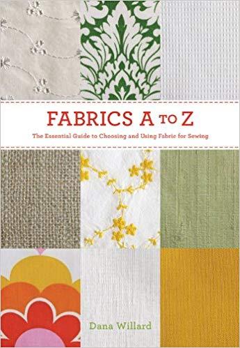 18 Awesome Craft + DIY Books: Fabrics A to Z by Dana Willard