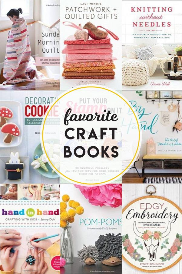 Favorite craft + DIY books