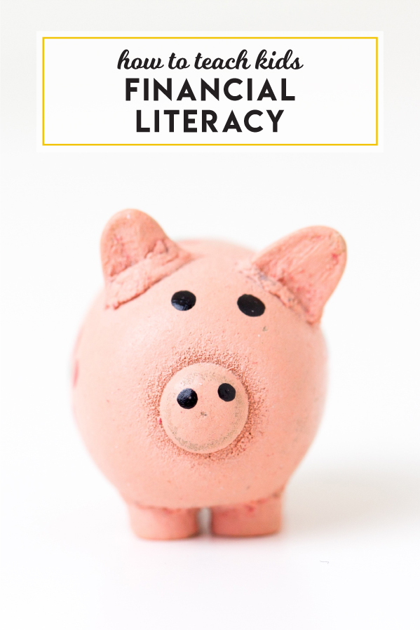 Simple ways to teach kids financial literacy