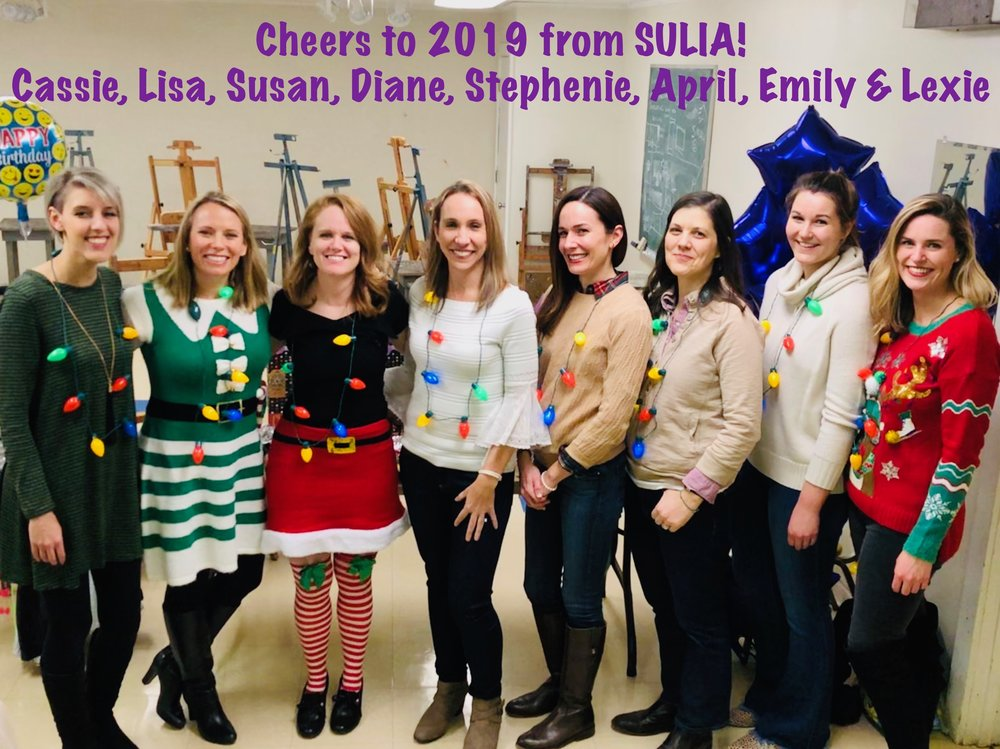 SULIA Team's Holiday Party - December 2018