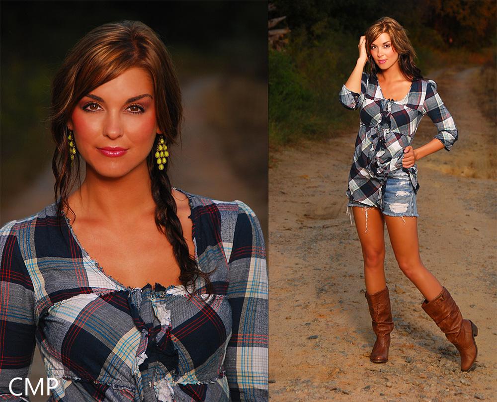 "Model Paige Duke of ""Sweet Home Alabama"" shoot by The Carolina Model Project"