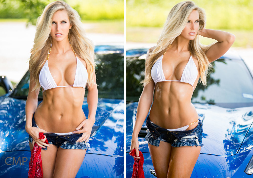 Fitness Model Ainsley Rae Baune photographed in St Louis by The Carolina Model Project